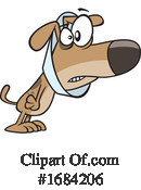 Dog Clipart #1684206 by toonaday