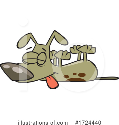 Royalty-Free (RF) Dog Clipart Illustration by toonaday - Stock Sample #1724440