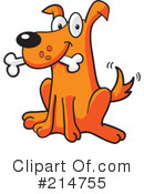 Dog Clipart #214755 by Cory Thoman