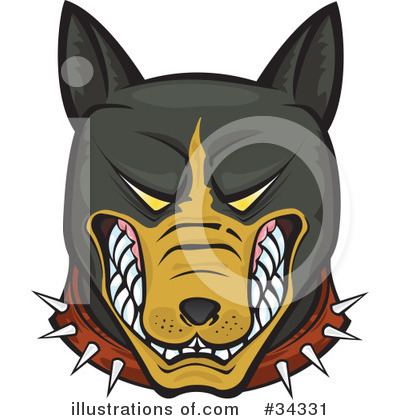 Rottweiler Clipart #34331 by Paulo Resende