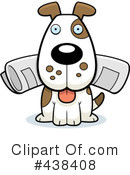 Dog Clipart #438408 by Cory Thoman