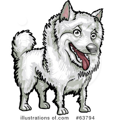 American Eskimo Dog Clipart #63794 by Tonis Pan