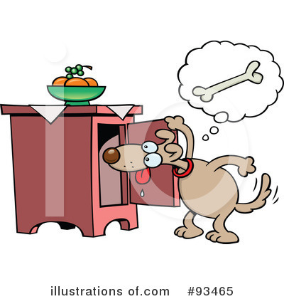 Dog Clipart #93465 by gnurf