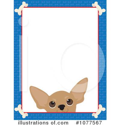 royalty free rf dog frame clipart illustration by maria bell stock sample - Dog Frame