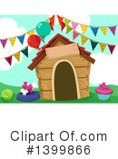Dog House Clipart #1399866 by BNP Design Studio