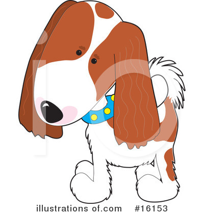 Puppy Clipart #16153 by Maria Bell
