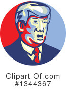 Donald Trump Clipart #1344367 by patrimonio