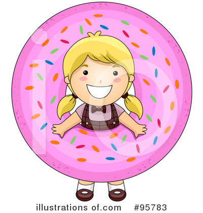 Donut Clipart #95783 - Illustration by BNP Design Studio