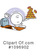 Donuts Clipart #1096902 by Johnny Sajem