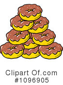 Donuts Clipart #1096905 by Johnny Sajem