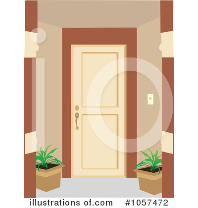 Royalty-Free (RF) Door Clipart Illustration #1057472 by mheld  sc 1 st  Illustrations Of & Door Clipart #1057472 - Illustration by mheld