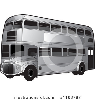 Double Decker Clipart #1163787 by Lal Perera