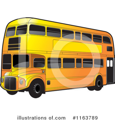 Double Decker Clipart #1163789 by Lal Perera