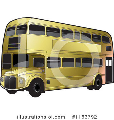 Double Decker Clipart #1163792 by Lal Perera