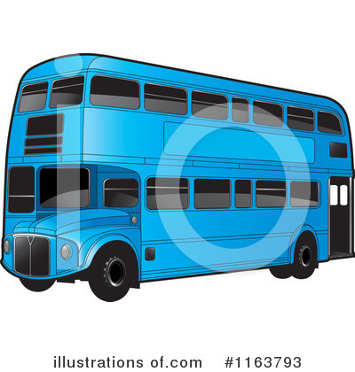 Double Decker Clipart #1163793 by Lal Perera