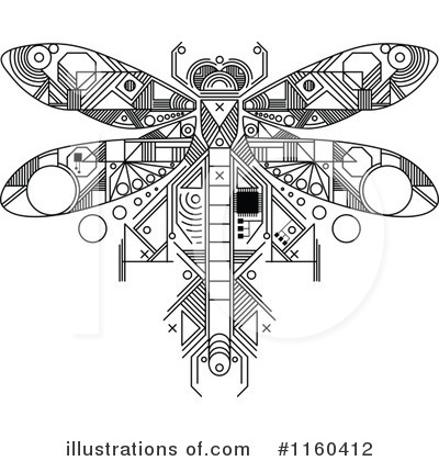 Dragonfly Clipart #1160412 by Vector Tradition SM