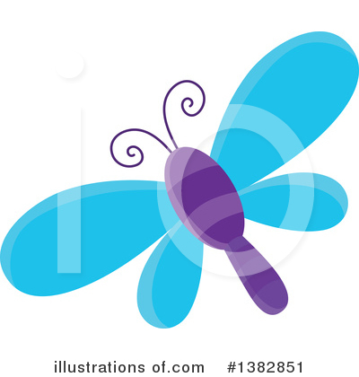 Dragonfly Clipart #1382851 by visekart