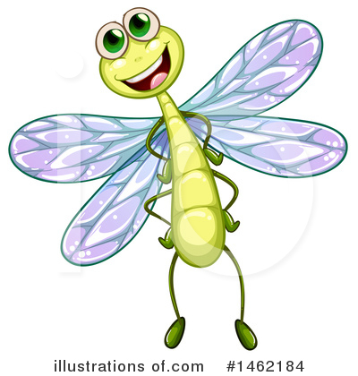 Dragonfly Clipart #1462184 by Graphics RF