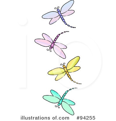 Dragonfly Clipart #94255 - Illustration by Pams Clipart