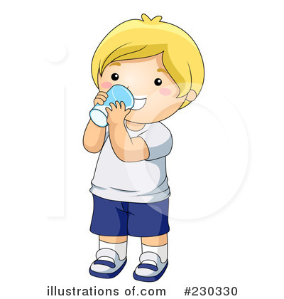 Drinking Clipart #230330 - Illustration by BNP Design Studio