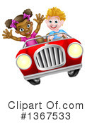 Driving Clipart #1367533 by AtStockIllustration
