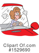 Driving Clipart #1529690 by Johnny Sajem