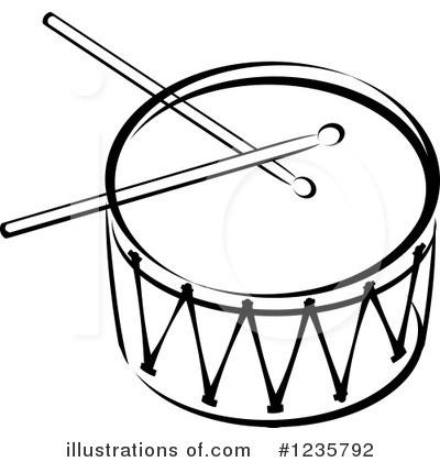 Royalty-Free (RF) Drum Clipart Illustration by Vector Tradition SM ...