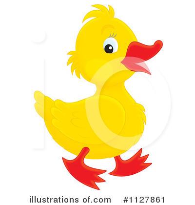 Duck Clipart #1127861 - Illustration by Alex Bannykh