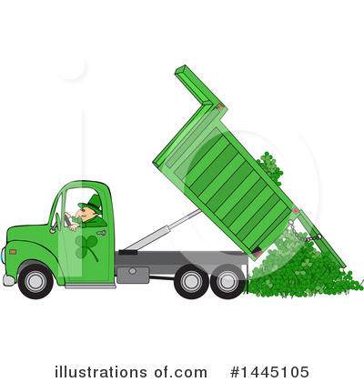 Leprechaun Clipart #1445105 by djart