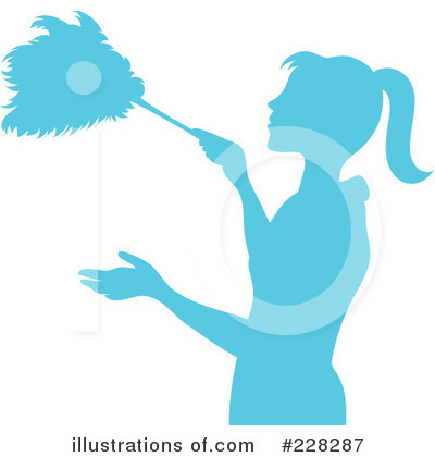 Dusting Clipart #228287 by Pams Clipart