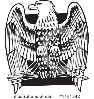 Eagle Clipart 1101542 Illustration By Bestvector