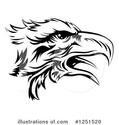 Bald Eagle Clipart #1251520 by AtStockIllustration