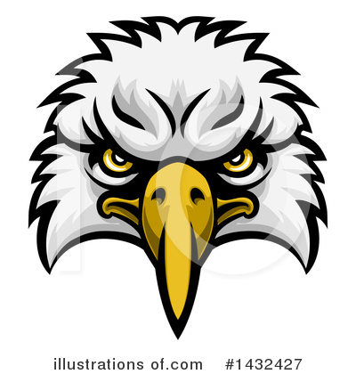Bald Eagle Clipart #1432427 by AtStockIllustration