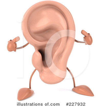 ears clipart 1083566 illustration by julos. Black Bedroom Furniture Sets. Home Design Ideas