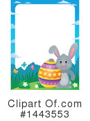 Easter Bunny Clipart #1443553 by visekart