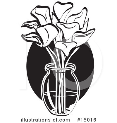 Lilies Clipart #15016 by Andy Nortnik