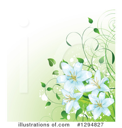 Clip Art Easter Lily Clipart easter lily clipart 1294827 illustration by pushkin royalty free rf pushkin