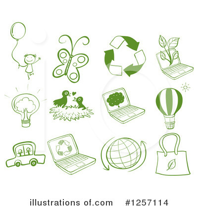 Green Energy Clipart #1257114 by Graphics RF