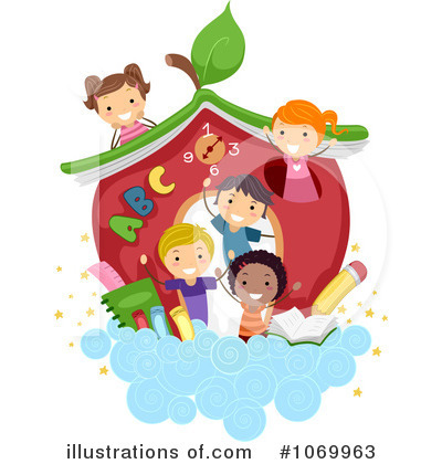 Education Clipart #1069963 - Illustration by BNP Design Studio