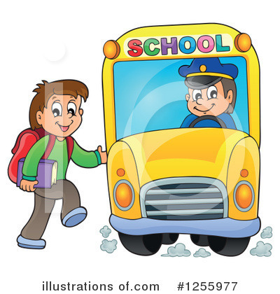 School Boy Clipart #1255977 by visekart