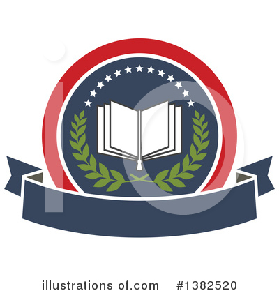 Open Book Clipart #1382520 by Vector Tradition SM