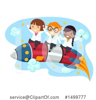 Scientist Clipart #1499777 by BNP Design Studio