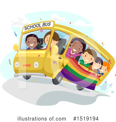 School Bus Clipart #1519194 by BNP Design Studio
