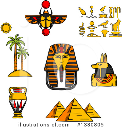 Anubis Clipart #1380805 by Vector Tradition SM