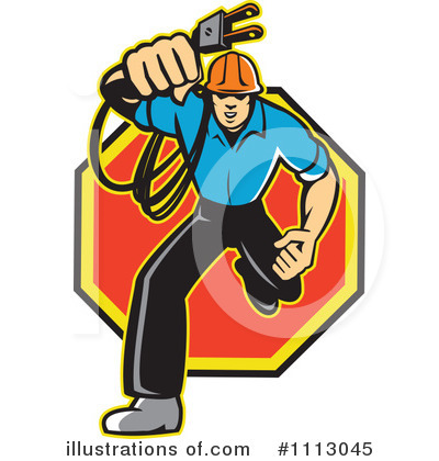 Clip Art Electrician Clipart electrician clipart 1113045 illustration by patrimonio royalty free rf patrimonio