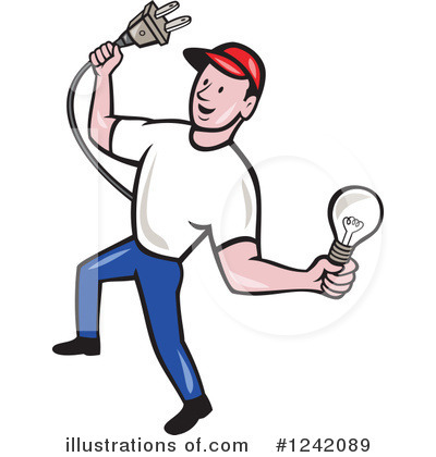 Clip Art Electrician Clipart electrician clipart 1242089 illustration by patrimonio royalty free rf patrimonio
