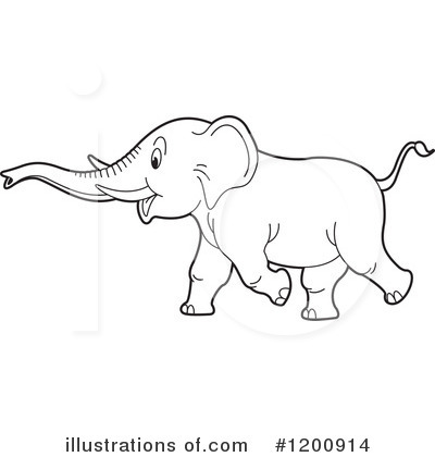 Elephant Clipart #1200914 by Lal Perera