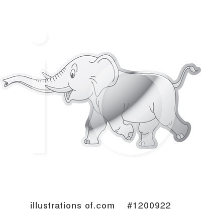 Elephant Clipart #1200922 by Lal Perera