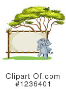 Elephant Clipart #1236401 by Graphics RF