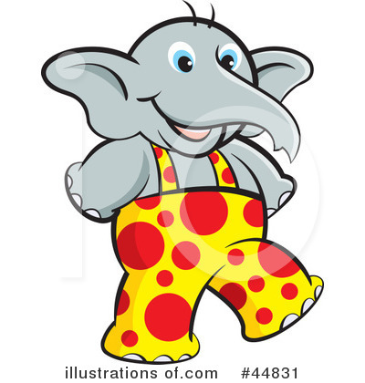 Elephant Clipart #44831 by Lal Perera